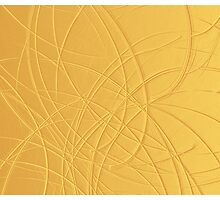 Canvas Art - Digital Background - Gold by pawelstp