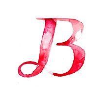 Alphabet B Photographic Print