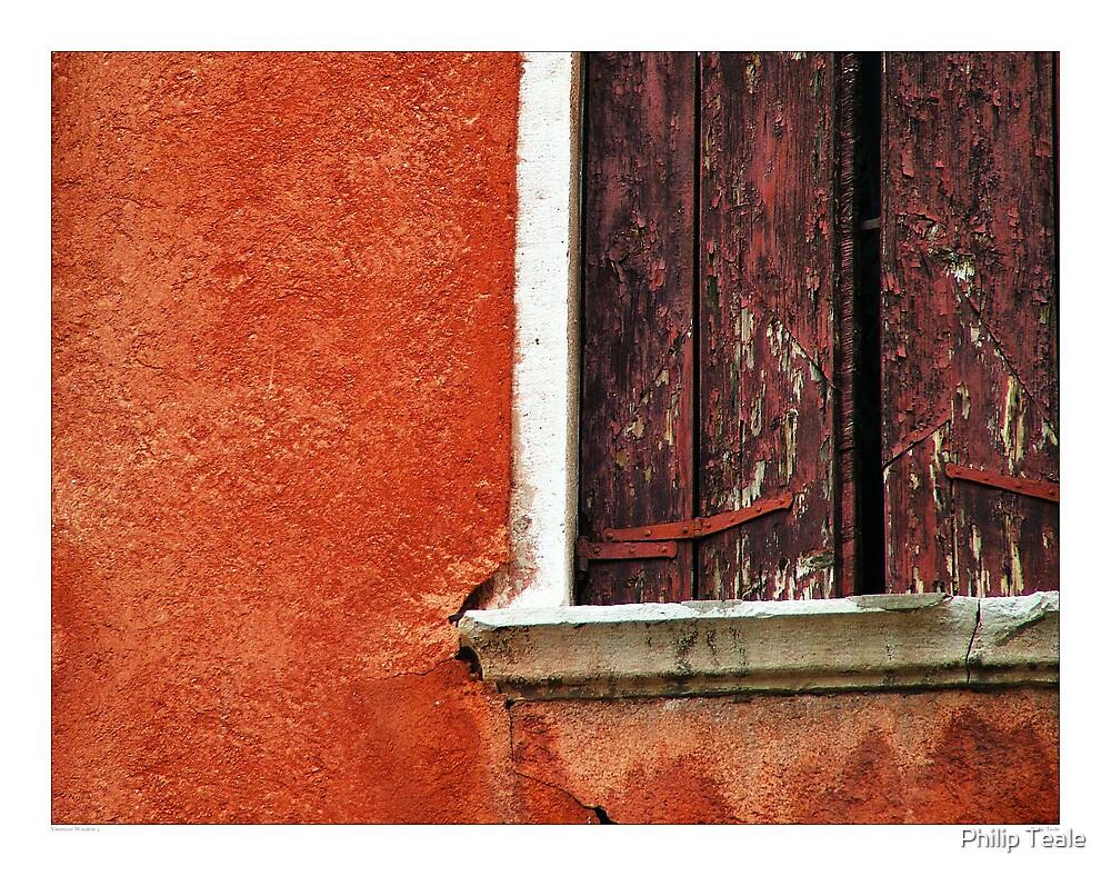 Venetian Window 4 by Philip Teale