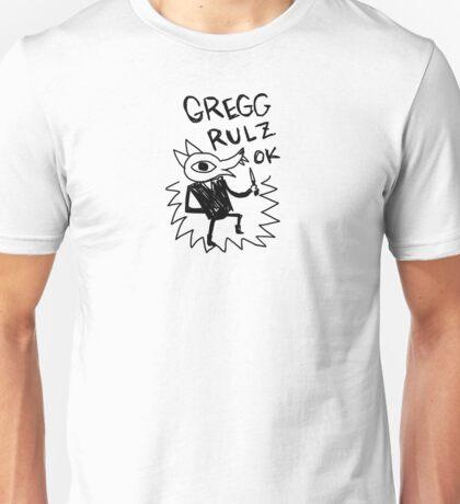 Night In The Woods - Gregg Rulz Ok - Black Clean Unisex T-Shirt