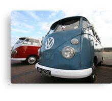 Fine VW Split Screen Canvas Print