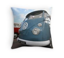 Fine VW Split Screen Throw Pillow