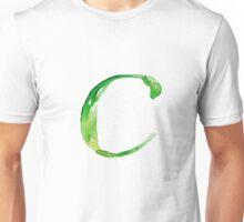 Alphabet C Unisex T-Shirt