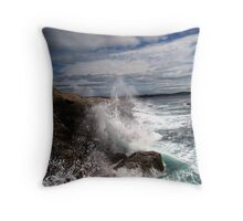 Peggy's Cove Splash Throw Pillow