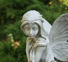 Ceramic fairy by candid