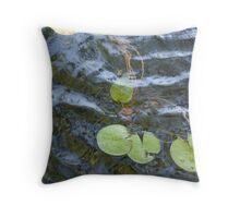 Lily Pad Ripple Throw Pillow
