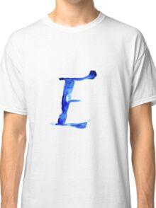 Alphabet E Classic T-Shirt