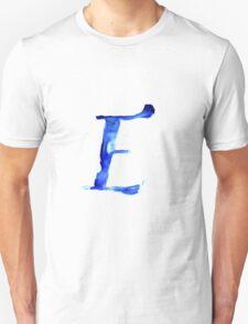 Alphabet E Unisex T-Shirt