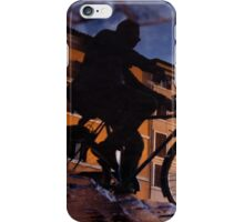 The reflections of a Cyclist iPhone Case/Skin