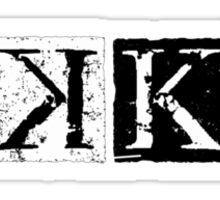 K Anime Logo Sticker