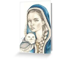 Winter Messengers Greeting Card