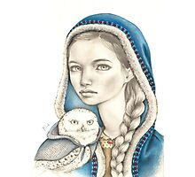 Winter Messengers Photographic Print