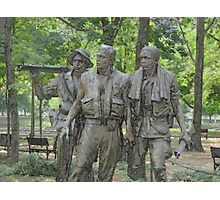Vietnam Veterans Memorial Photographic Print