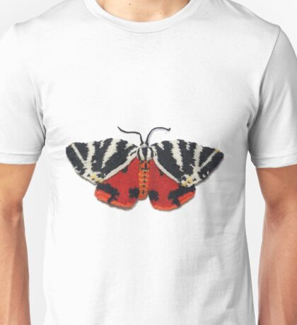 Jersey Tiger Moth - Knitted Unisex T-Shirt