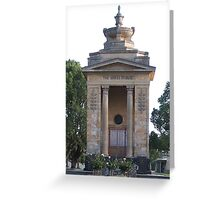 The Shires Tribute, Colac Greeting Card