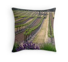 Central Coast Winery Throw Pillow