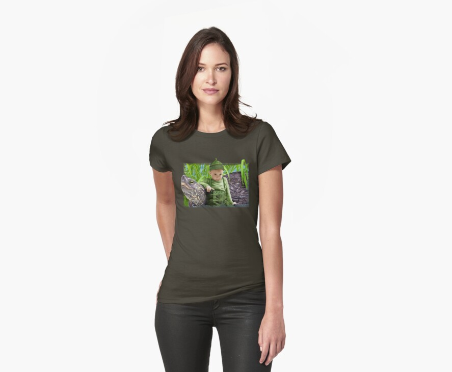 Green tee by Ivy Izzard