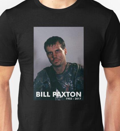 Bill Paxton as Private Hudson Unisex T-Shirt