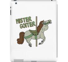 Mr. Goiter iPad Case/Skin