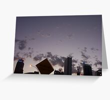 city signs Greeting Card