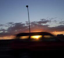 Speedy Sun Runner  by HarbourCityCards