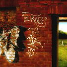 Urban wall Country door by Pete Chennell
