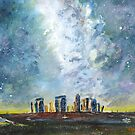 Something strange at Stonehenge by Joe Trodden