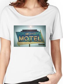 Mom's Motel T-shirt Women's Relaxed Fit T-Shirt