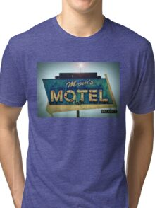 Mom's Motel T-shirt Tri-blend T-Shirt