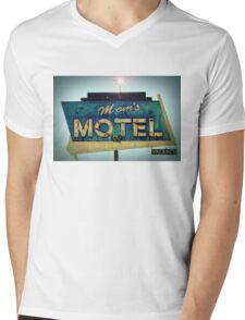 Mom's Motel T-shirt Mens V-Neck T-Shirt