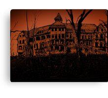 Ludo haunts the house Canvas Print