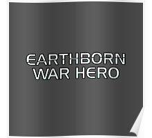 Mass Effect Origins - Earthborn War Hero Poster