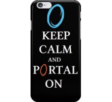 Portal On! iPhone Case/Skin