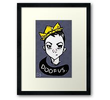 Boy King Framed Print