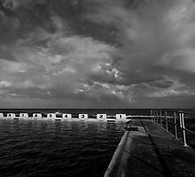 Merewether Storm Clouds 3 by Mark Snelson