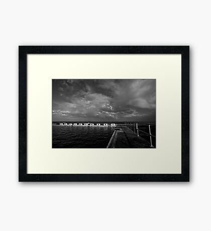 Merewether Storm Clouds 3 Framed Print