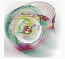 Swirling Twirling Whirling Colours T-Shirt