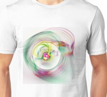 Swirling Twirling Whirling Colours Unisex T-Shirt