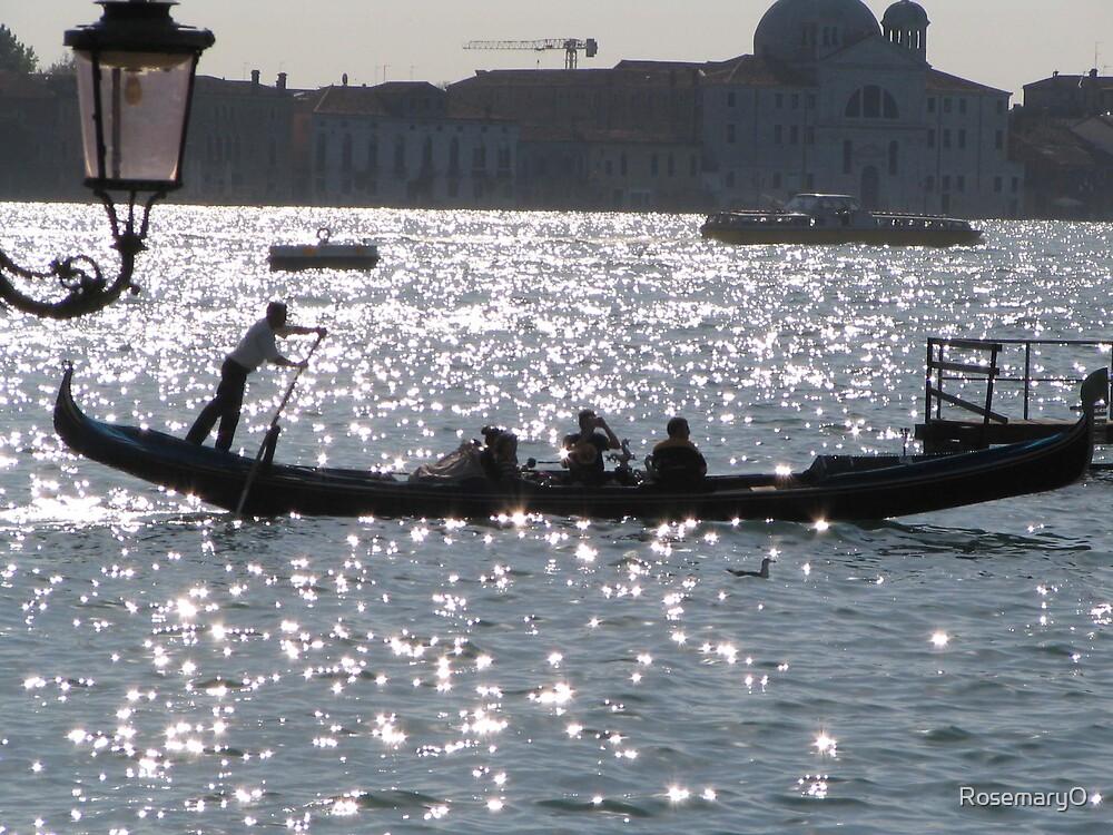 Gondola, Venice by RosemaryO