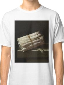 Adriaen Coorte - Still Life With Asparagus, 1697 Classic T-Shirt