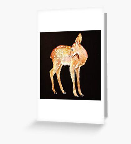 Fawn Greeting Card