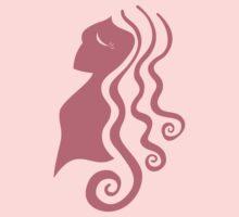 pink girl by Leigh Ann Pobiak