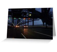 Reflecting on the Bridge Greeting Card