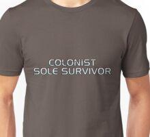 Mass Effect Origins - Colonist Sole Survivor Unisex T-Shirt
