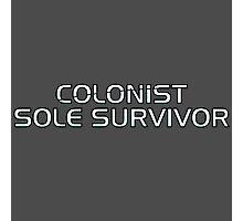 Mass Effect Origins - Colonist Sole Survivor Photographic Print