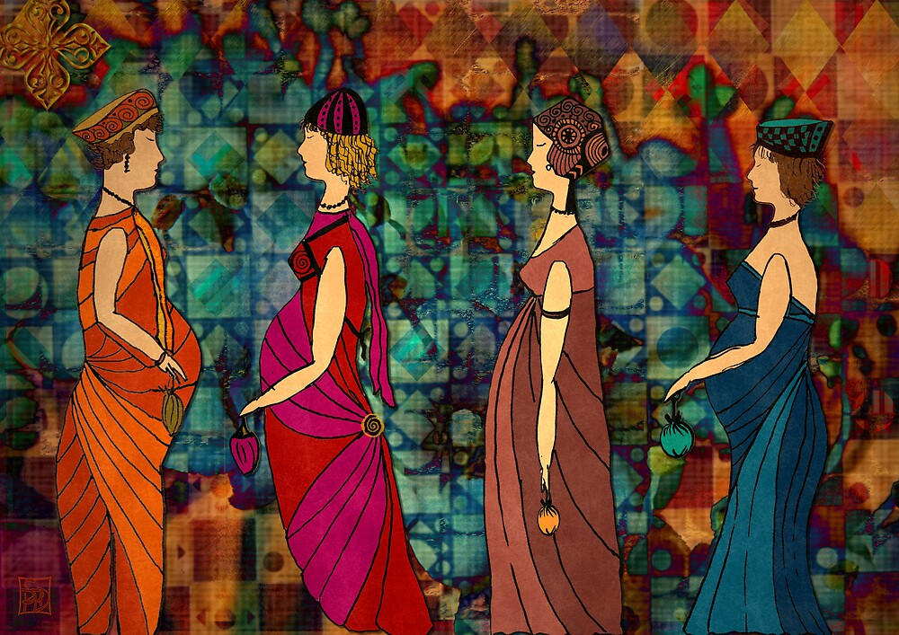 Follow me ladies  and celebrate ! by Sabine Spiesser