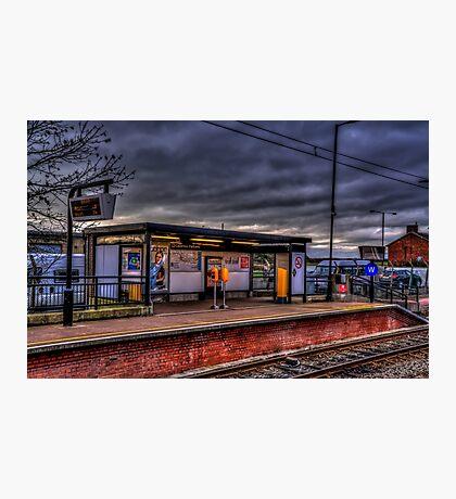Callerton Parkway Metro Platform Photographic Print