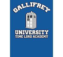 Gallifrey university time lord academy Photographic Print