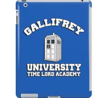Gallifrey university time lord academy iPad Case/Skin