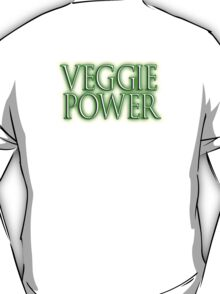 VEGGIE POWER, Vegetarianism, Vegetarian, Vegan, Vegetables T-Shirt